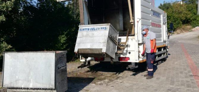 Konteynerlerin Temizliği Devam Ediyor