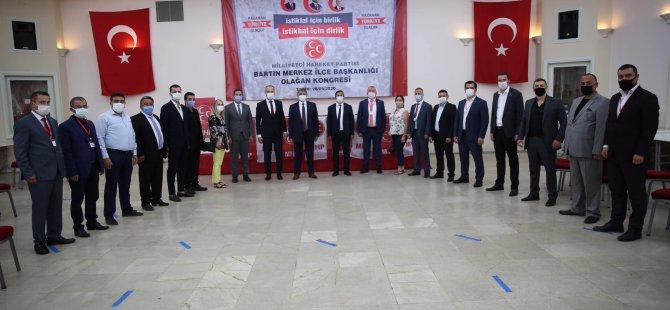 MHP Merkez İlçe Başkanı Demir, Güven Tazeledi