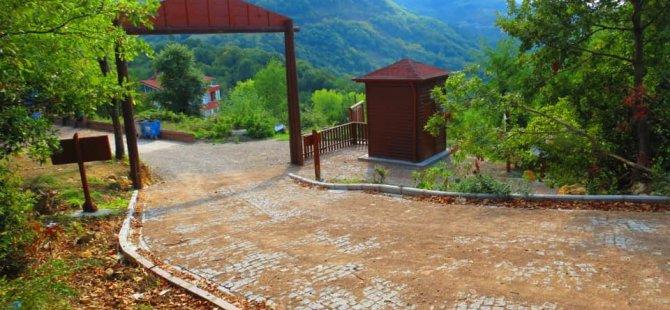 Ahatlar Tabiat Parkı 1. etabı tamamlandı