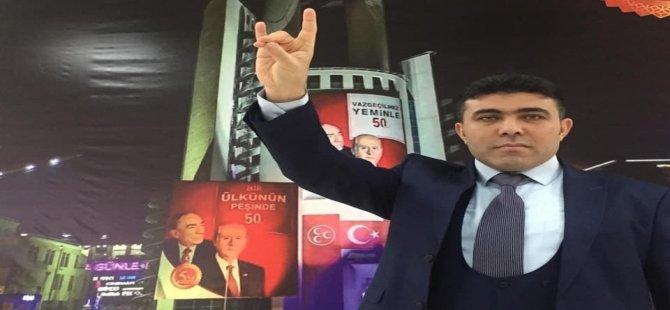 Özgüroğlu, Merkez ilçe Başkan Yardımcılığına seçildi
