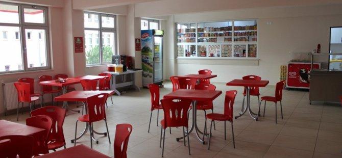 7 aylık aranın ardından okul kantinleri açıldı