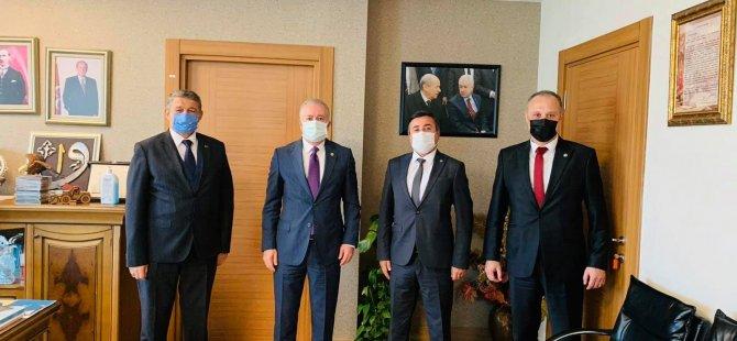 Başkan Akın, MHP Genel Merkezini Ziyaret Etti