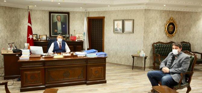Ankara'dan Başkan Akın'a Selam Getirdi