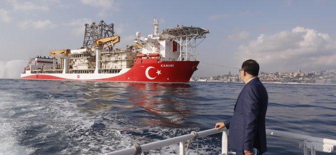 Kanuni sondaj gemisi Filyos'a demirledi