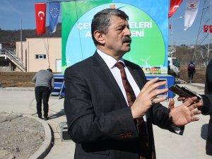 Başkan Akın, basın mensuplarına tesisi tanıttı