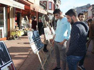 Şehit Çakıroğlu için fotoğraf sergisi düzenlendi