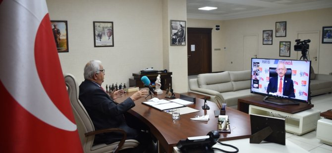 Başkan, Kılıçdaroğlu İle Görüştü