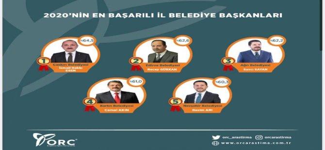 En Başarılı Belediye Başkanları Arasına Girdi