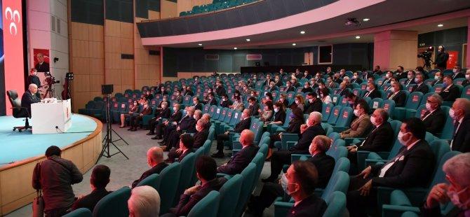 İl Başkanı Özçelik, Ankara'da ki toplantıya katıldı