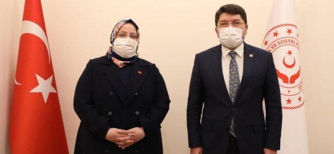Tunç, kamu binası için Bakanı ziyaret etti