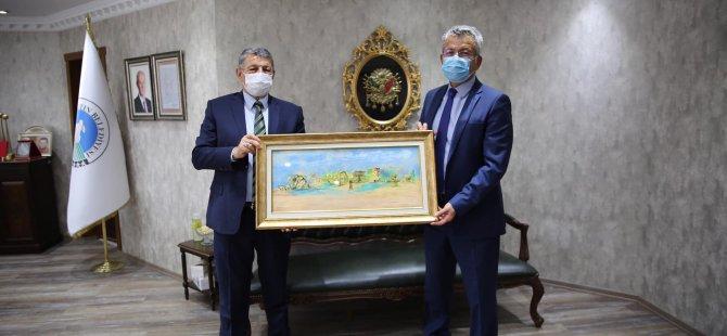 İl Müdürü Şahin'den Başkan Akın'a Veda Ziyareti