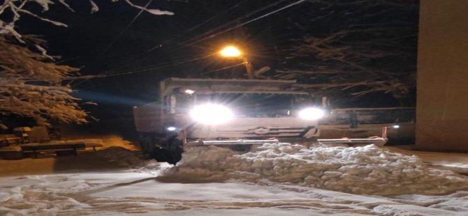 32 köyün yolu kapandı