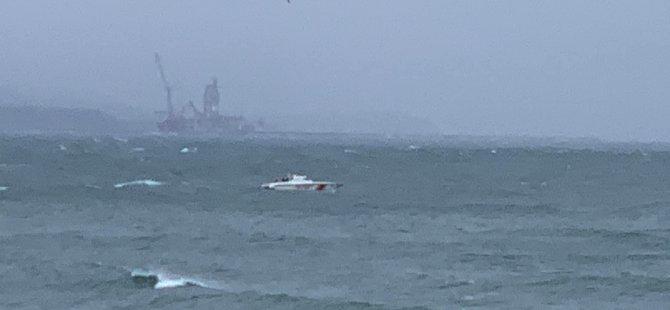 Batan gemiden 6 kişi kurtarıldı