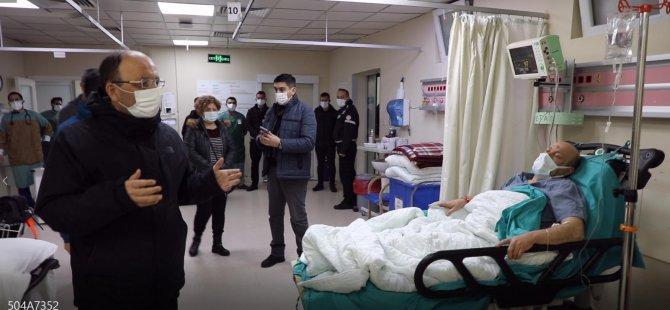 Gemiden kurtarılan 6 kişi tedavi altına alındı
