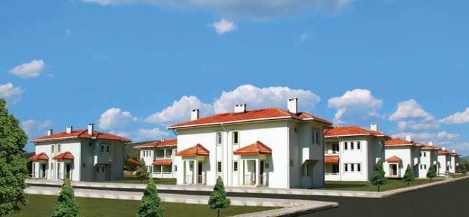 TOKİ, Kozcağız Şarköy'e 188 adet köy konutu yapacak