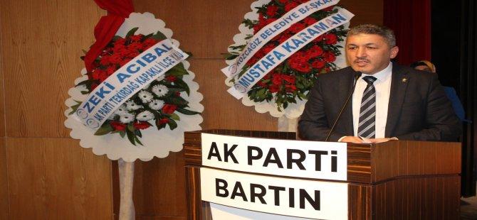 """""""Kadını özgür kılan partinin adı AK Parti'dir"""""""