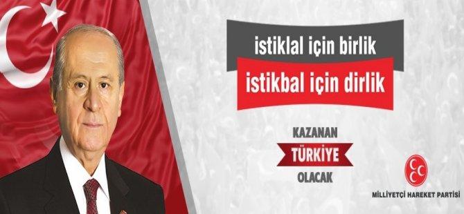 MHP kurultayına Bartın'dan 5 delege katılacak