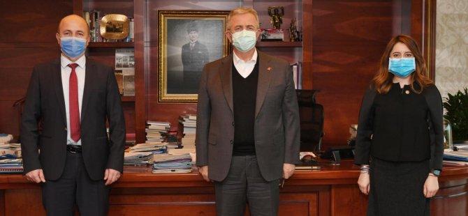 Milletvekili Bankoğlu, Başkan Yavaş'ı ziyaret etti