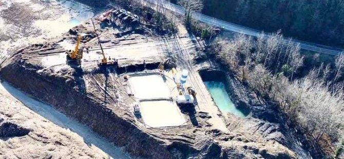 Yeraltı barajından yıllık 372 bin m³ ilave su temini sağlanacak