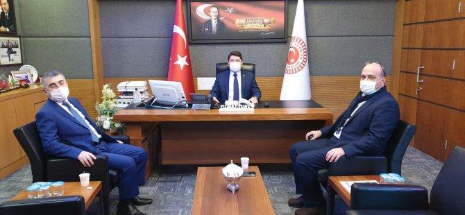 Başkan Fındık'tan Tunç'a Teşekkür