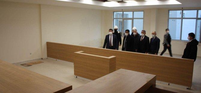 Milletvekili Tunç, Adalet Sarayı'nı inceledi