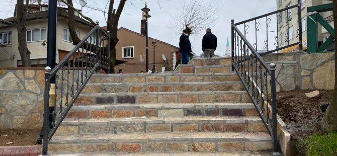 Merdivenler Güvenli Hale Getirildi