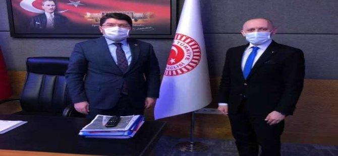 Kulüp Başkanı Altınçubuk'tan Tunç'a Ziyaret