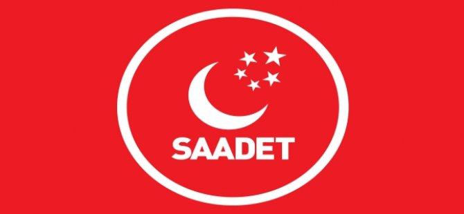 Saadet'ten anlamlı çağrı