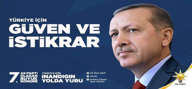 """""""Türkiye İçin Güven ve İstikrar Sürecek"""""""