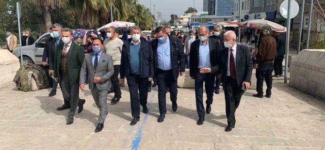 Başkan Akın Adana'da