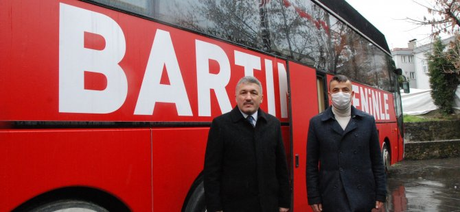 Bartın İl Başkanlığına Otobüs Satın Alındı