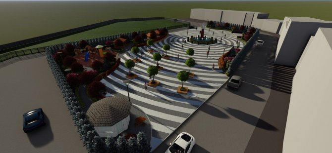 Kumluca Kent Meydanı için Kurban Bayramı'nda açılış planlanıyor