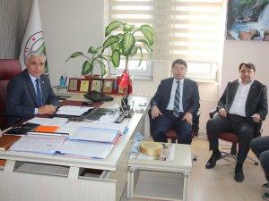 Tunç ve Manav'dan  Başkan Dursun'a ziyaret