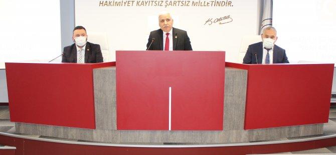 İl Genel Meclisinde Başkan Vekili Değişti