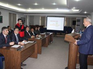 Vali Dirim, Mecliste 2016 Yılı Faaliyet Raporunu sundu
