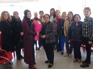 Kadın girişimcileri ziyaret etti