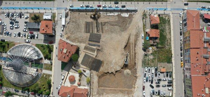 Bedesten inşaatında çalışmalar devam ediyor