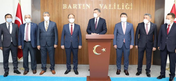 Milli Eğitim Bakanı Bartın'da