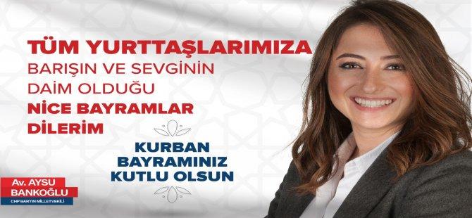 Bankoğlu, Kurban Bayramı'nı kutladı