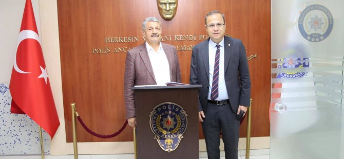 Başkan'dan Emniyet Müdürü'ne Hayırlı Olsun Ziyareti