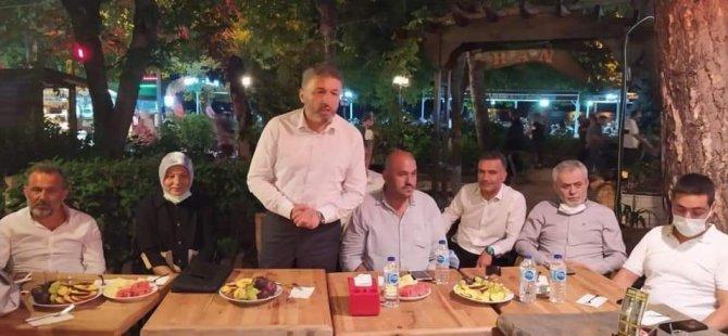 İl Başkanı Kalaycı, Amasra Teşkilatıyla Buluştu