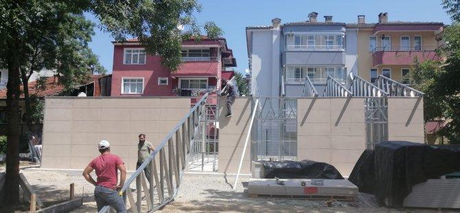 Yeni Yaşam Merkezi İçin Bina Oluşturma Çalışmalarına Başlandı