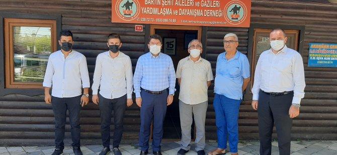 Milletvekili Tunç'tan Derneklere Ziyaret