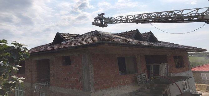Yangın kısa sürede kontrol altına alındı