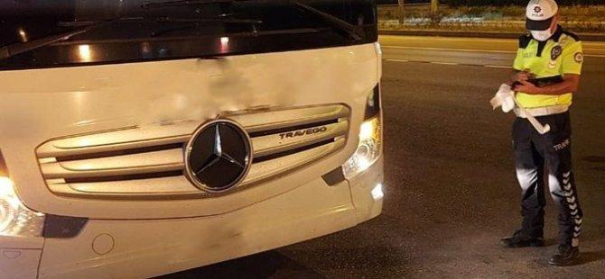 Yolcu taşıyan 8 sürücü alkollü yakalandı
