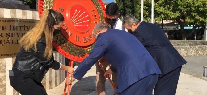 CHP'nin 98. kuruluş yıldönümü kutlandı