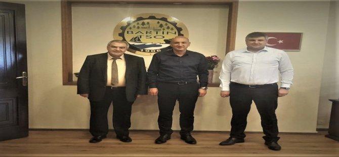 BAKKA Genel Sekreteri Altunsu'dan TSO Başkanı Balık'a Ziyaret