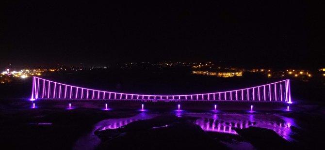 Köprü Işıklandırıldı