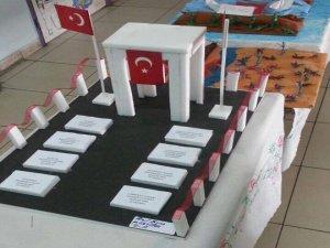 TOKİ Öğrencileri Çanakkale şehitlerini andı