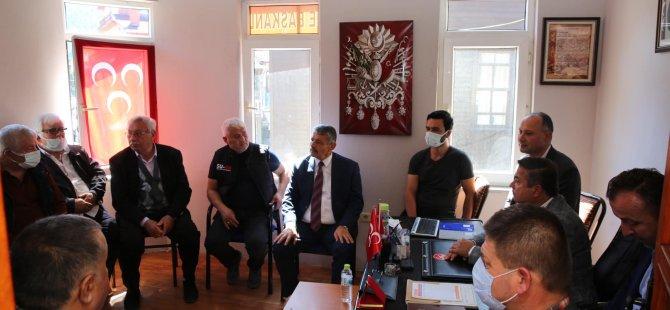 Başkan Ulus İlçe Teşkilatıyla Bir Araya Geldi